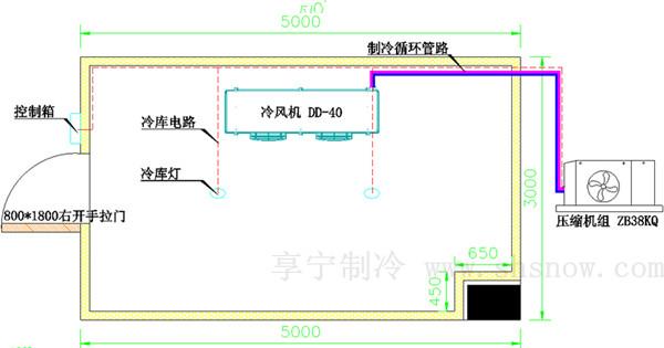 冷库工程设计图